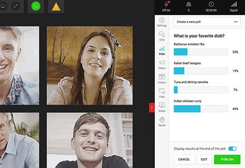 WebinarJam polls and surveys