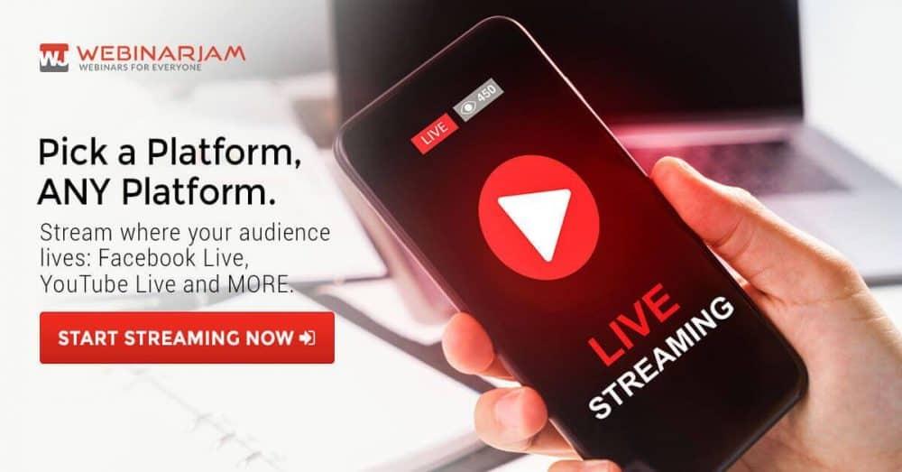 WebinarJam YouTube Live