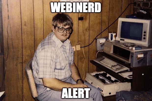 webinerd alert