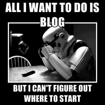 where to start blog